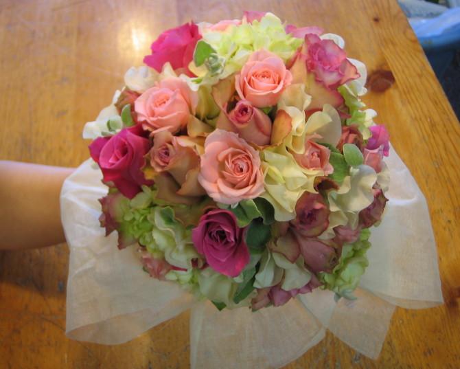 春!彩り豊かな花束いかがですか!